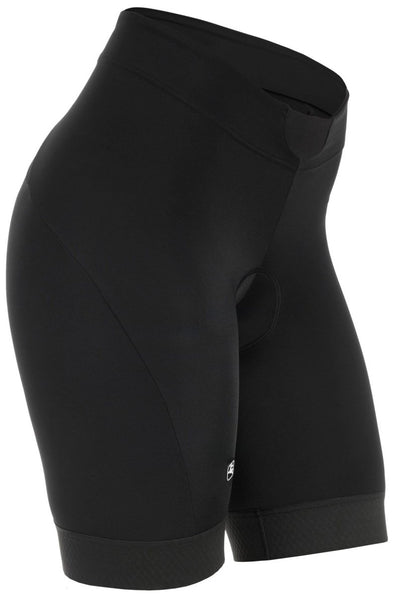 Giordana Women's SilverLine Short - Black - Classic Cycling