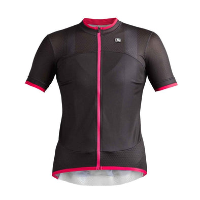 Giordana Women's Silverline Short Sleeve Jersey - Black - Classic Cycling