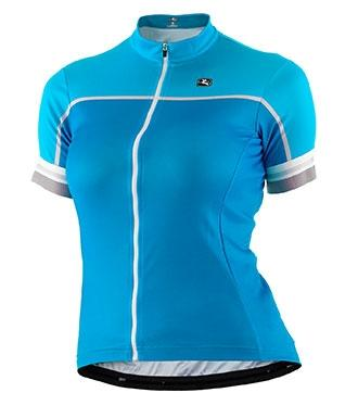 Giordana Women's Silverline Short Sleeve Jersey - Blue - Classic Cycling