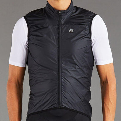 Giordana ZEPHYR Cycling Vest - Opaque White with black accents - Classic Cycling