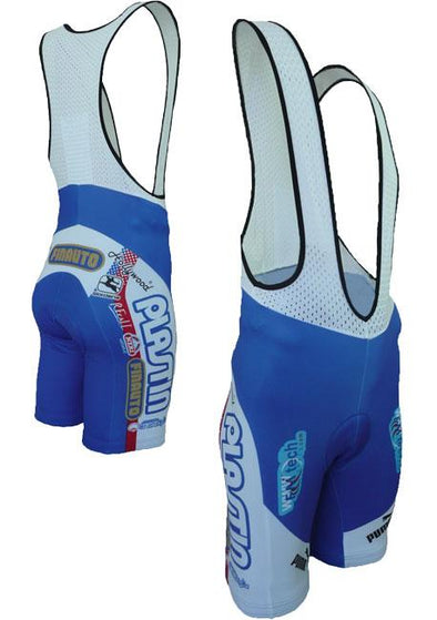 Giordana Zoccorinese Pro Team Bib Shorts - Classic Cycling