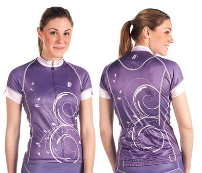 Hincapie Anthem Cycling Jersey - Grape - Classic Cycling
