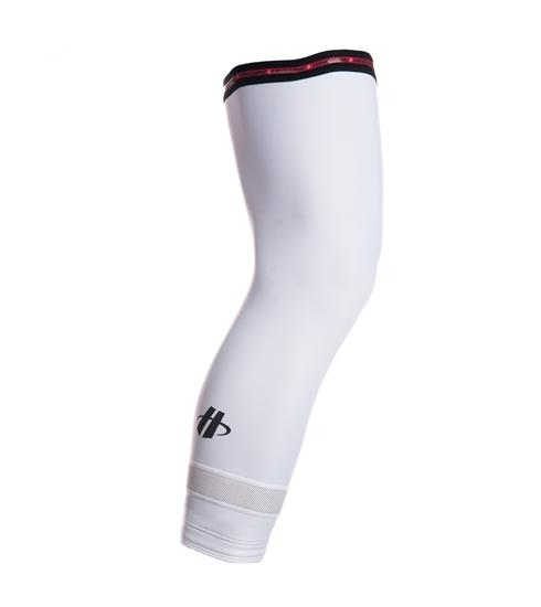 Hincapie Arenberg Knee Warmers White - Classic Cycling
