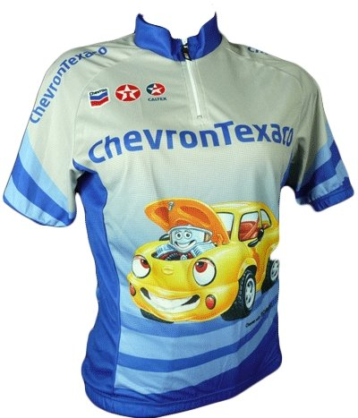 Hincapie Chevron Texaco  Cycling Jersey - Classic Cycling