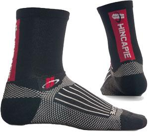Hincapie Power 5 Inch Crew Sock Black - Classic Cycling