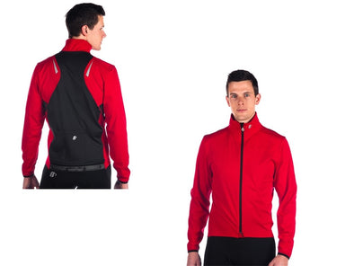 Hincapie Power Tour Jacket - Red - Classic Cycling