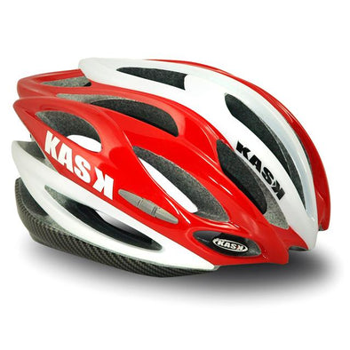 Kask K.10 Helmet White - Red OSFA - NO BOX - Classic Cycling
