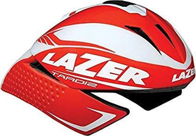 Lazer Tardiz Triathlon Helmet - Red-White - Classic Cycling