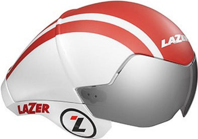 Lazer Wasp Air Helmet - White-Red - Classic Cycling