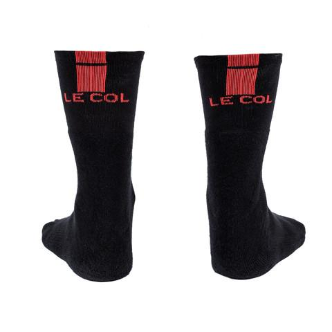 Le Col Cycling Socks - Red - Classic Cycling