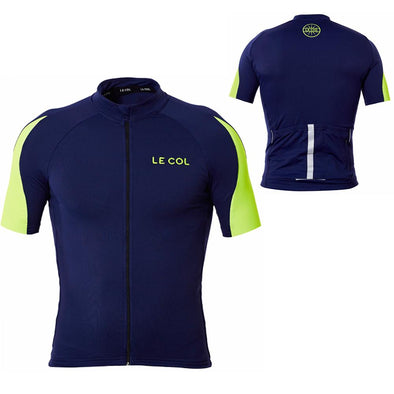 Le Col HC Cycling Jersey - Navy Fluo - Classic Cycling
