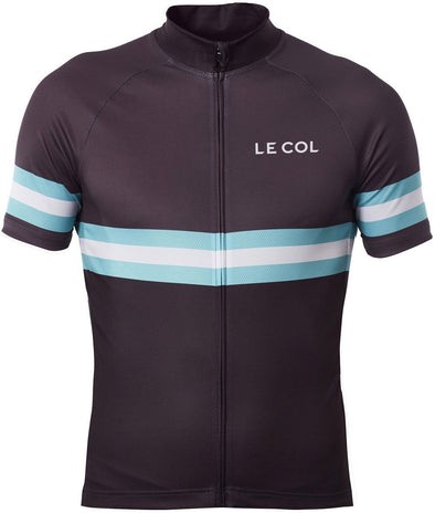 Le Col Sport Cycling Jersey - Black Blue - Classic Cycling
