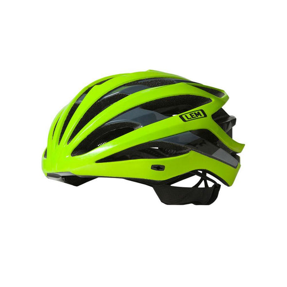 LEM Gavia Cycling Helmet - Black Fluo - Classic Cycling