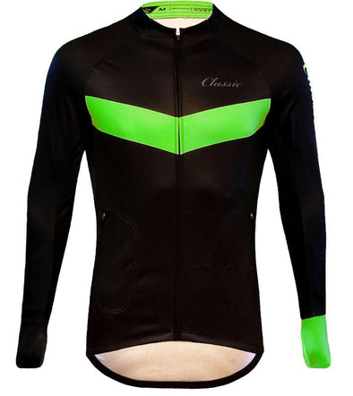 Classic Cycling Long Sleeve Winter Jersey - Classic Cycling