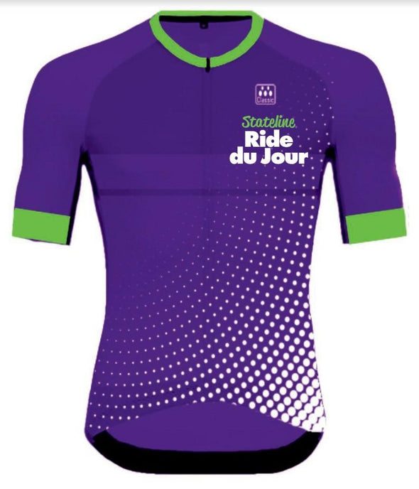Men's - Ride Du Jour Ice Summer Jersey - Classic Cycling