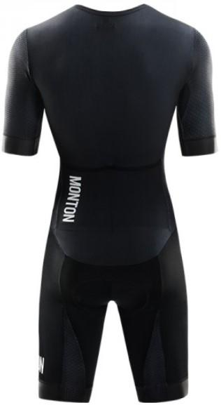 Monton Dark Knight Road Skinsuit - Black - Classic Cycling