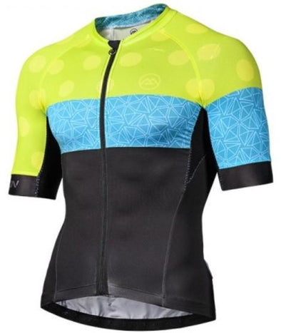 Monton Urban Climbing Flower Cycling Jersey - Yellow - Classic Cycling