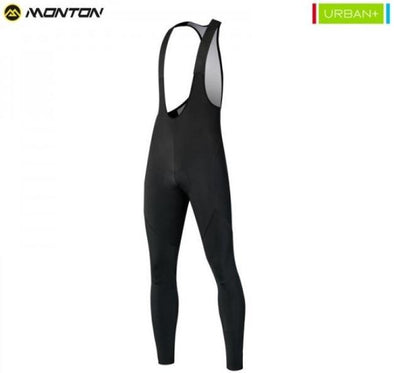 Monton Urban Holograme Fleece Bib Tights - Classic Cycling