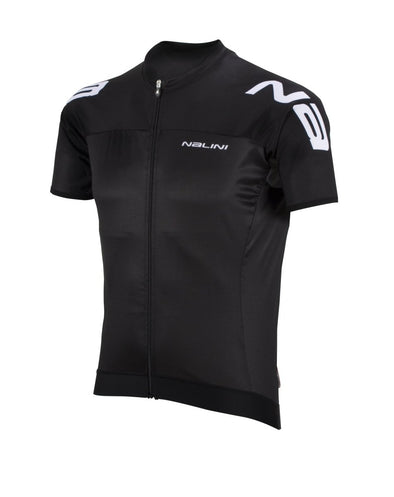 Nalini Aero Ti Lightweight Short Sleeve Jersey - Black - Classic Cycling