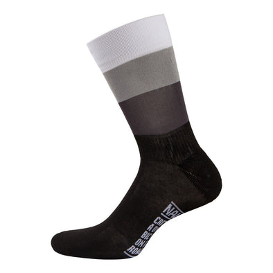Nalini Blue Summer Socks - Black-White - Classic Cycling