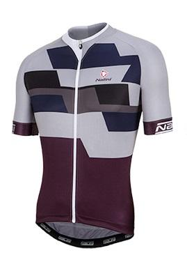 Nalini Cervino Short Sleeve Jersey - Grey - Classic Cycling