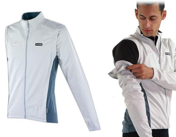 Nalini Cornalina Winter Thermal Convertible Jacket - Classic Cycling
