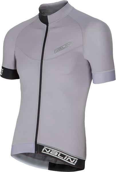 Nalini Curva Ti Short Sleeve Jersey - Grey - Classic Cycling