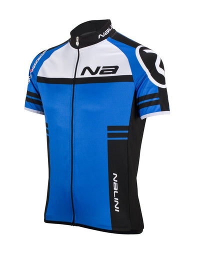 Nalini Ergo Lightweight Short Sleeve Jersey - Blue - Classic Cycling