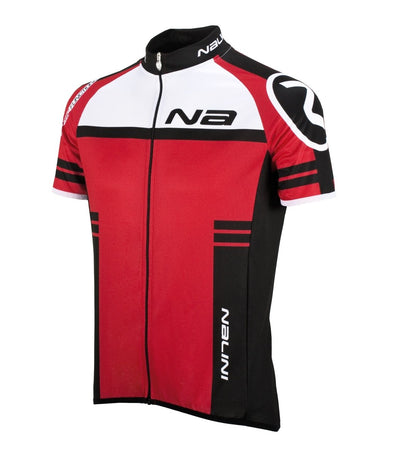 Nalini Ergo Lightweight Short Sleeve Jersey - Red - Classic Cycling