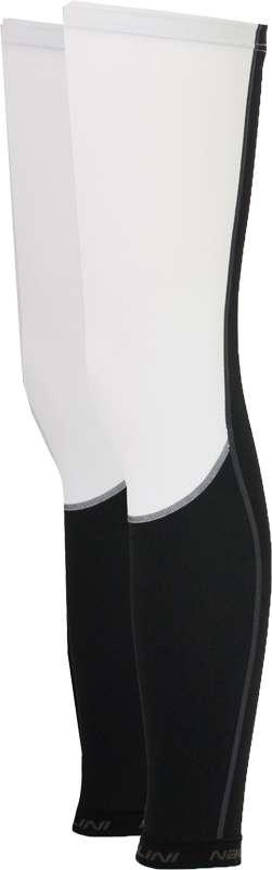 Nalini Hoya Leg Warmers - White - Classic Cycling