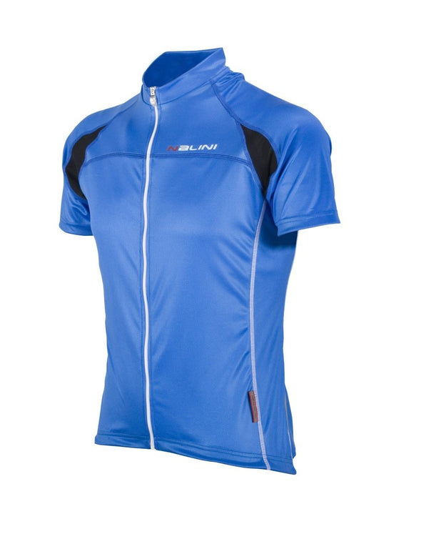 Nalini Karma Ti Lightweight Short Sleeve Jersey - Blue - Classic Cycling
