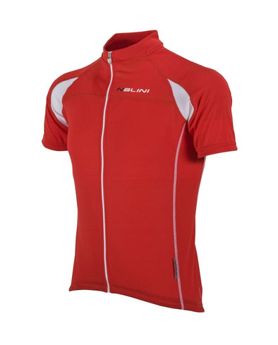 Nalini Karma Ti Lightweight Short Sleeve Jersey - Red - Classic Cycling