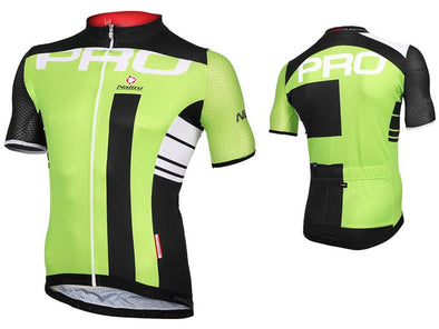 Nalini Lato Lightweight Short Sleeve Jersey - Green - Classic Cycling