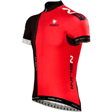 Nalini Light Compression Ti Jersey - Black Red - Classic Cycling