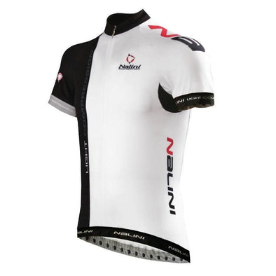 Nalini Light Compression Ti Jersey - Black White - Classic Cycling