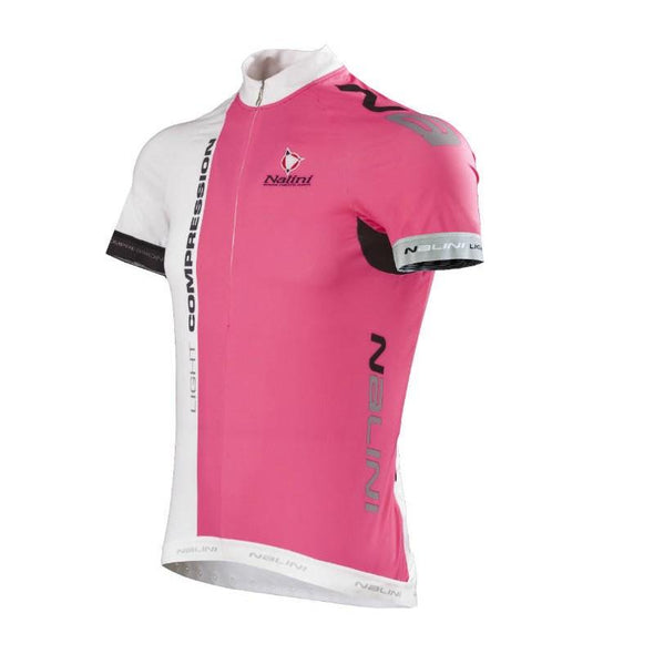 Nalini Light Compression Ti Jersey - White Pink - Classic Cycling