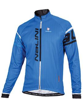Nalini Logo Ti Long Sleeve Jersey - Blue - Classic Cycling