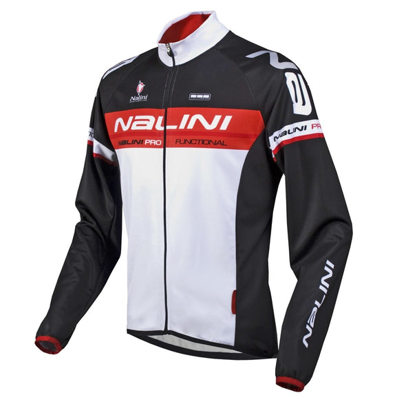 Nalini Ossana Long Sleeve Jersey Black - Classic Cycling
