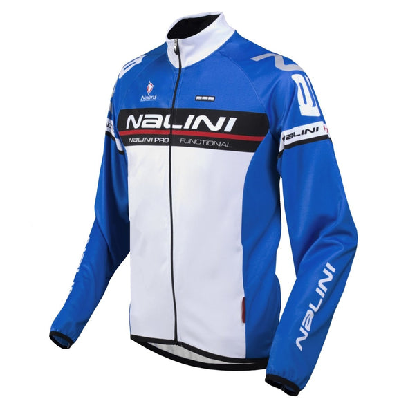 Nalini Ossana Long Sleeve Jersey Blue - Classic Cycling