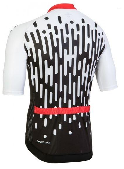 Nalini Podio Short Sleeve Jersey - White-Black - Classic Cycling