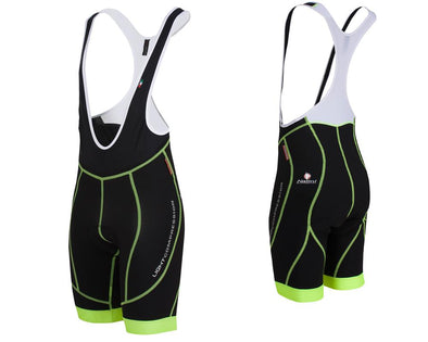 Nalini Rivo Light Compression Bib Shorts Fluo - Classic Cycling
