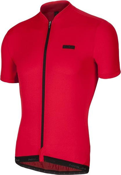 Nalini Rosso Short Sleeve Jersey - Red - Classic Cycling