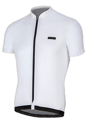 Nalini Rosso Short Sleeve Jersey - White - Classic Cycling