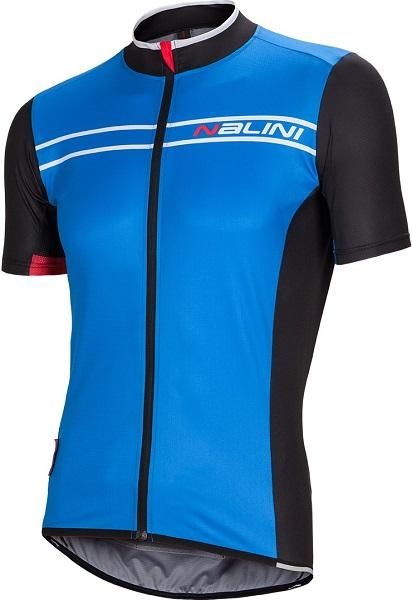 Nalini Sinello Ti Short Sleeve Jersey - Blue - Classic Cycling