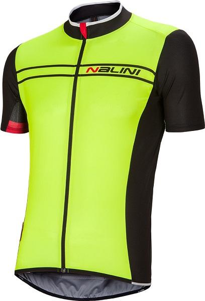 Nalini Sinello Ti Short Sleeve Jersey - Fluo - Classic Cycling