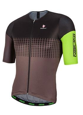 Nalini Velodromo Short Sleeve Jersey - Dark Grey - Classic Cycling