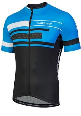 Nalini Vittoria Short Sleeve Jersey - Blue - Classic Cycling