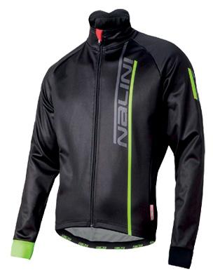 Nalini Xwarm Jacket - Black with Fluo - Classic Cycling