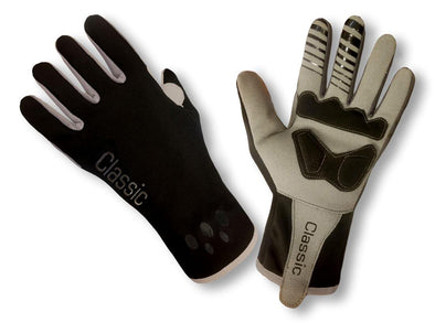 Pro Wind Gloves - Black - Classic Cycling