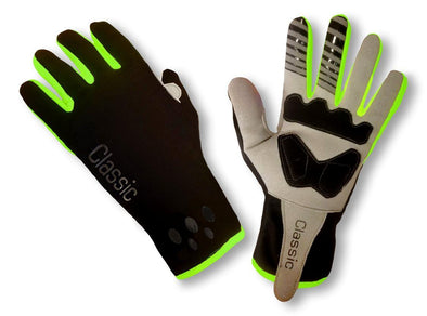 Pro Wind Gloves - Fluo - Classic Cycling